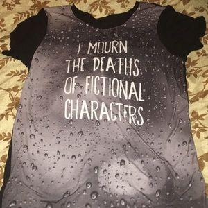 Gray Black Matter Shirt